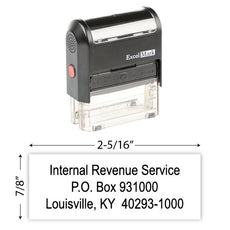 IRS Return Address Stamp 7