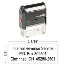 IRS Return Address Stamp 9