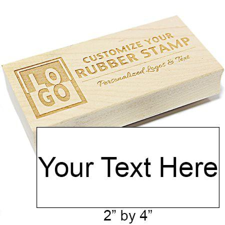 XL Rectangle Engraved Stamp