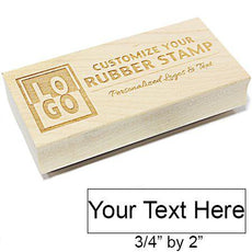 S Rectangle Engraved Stamp