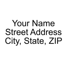 Address Stamp 3 Line