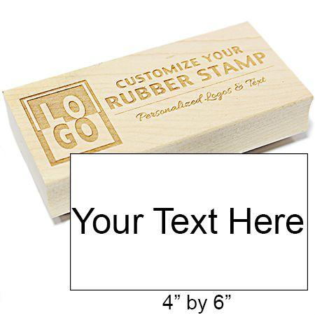 XXL Rectangle Engraved Stamp