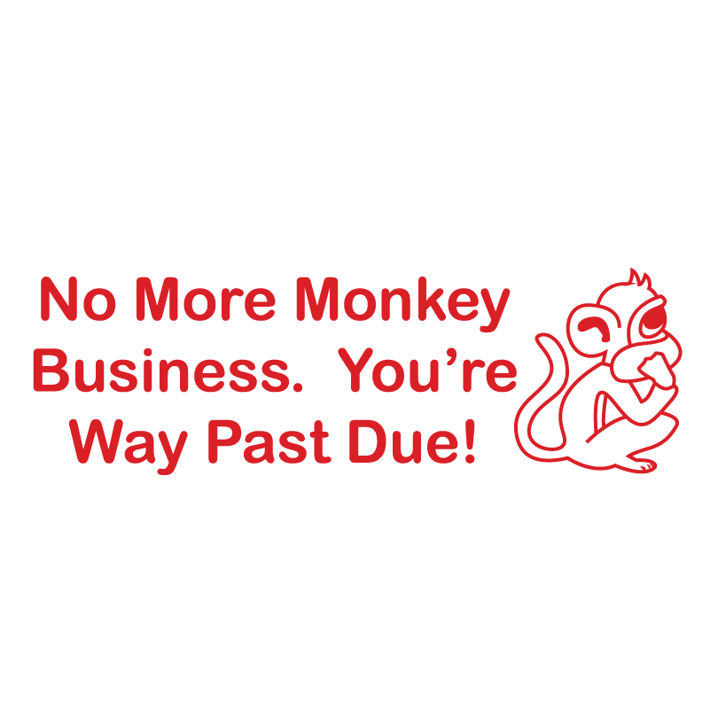 Monkey Business Stamp