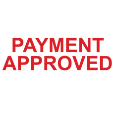 PAYMENT APPROVED Stamp