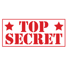 Star TOP SECRET Stamp