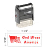 God Bless America (2) Stamp
