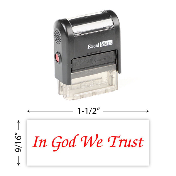 In God We Trust (2) Stamp