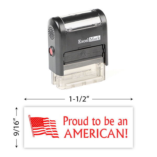 Proud To Be An American Stamp