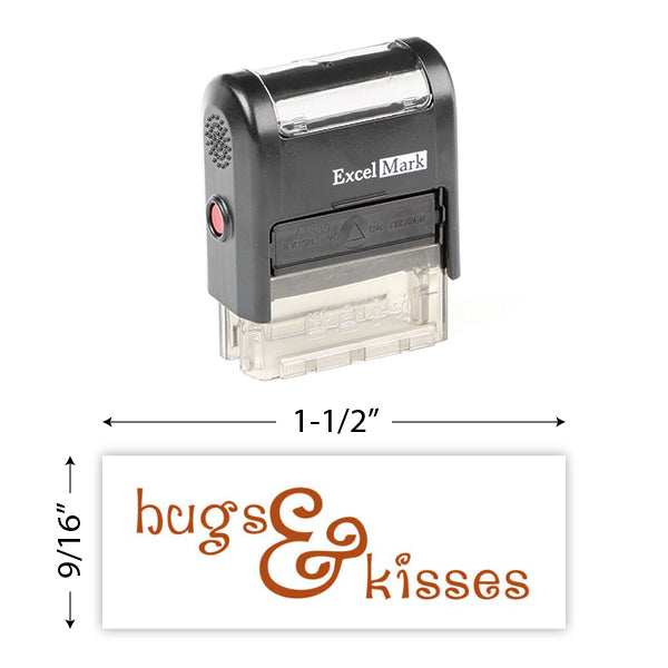 Hugs & Kisses Stamp