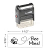Bee Mine Stamp