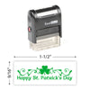 Happy St. Patricks Day 3 Stamp
