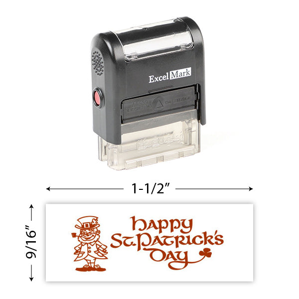 Happy St. Patrick's Day 4 Stamp