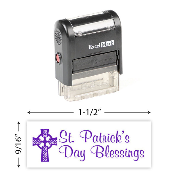 St. Patrick's Day Blessings Stamp
