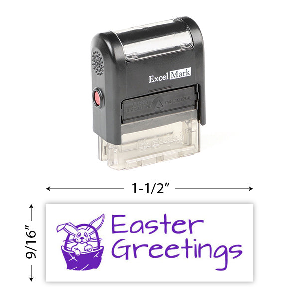 Easter Greetings 3 Stamp