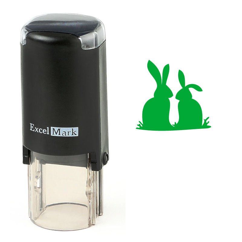 Bunny Silhouettes Stamp