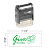 Give Thanks (Leaves) Stamp