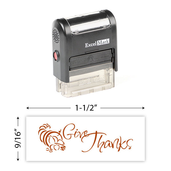 Give Thanks (Cornucopia) Stamp