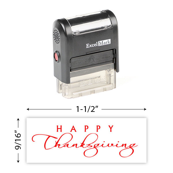 Happy Thanksgiving Stamp