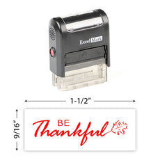Be Thankful Stamp