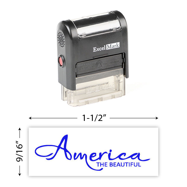 America The Beautiful Stamp