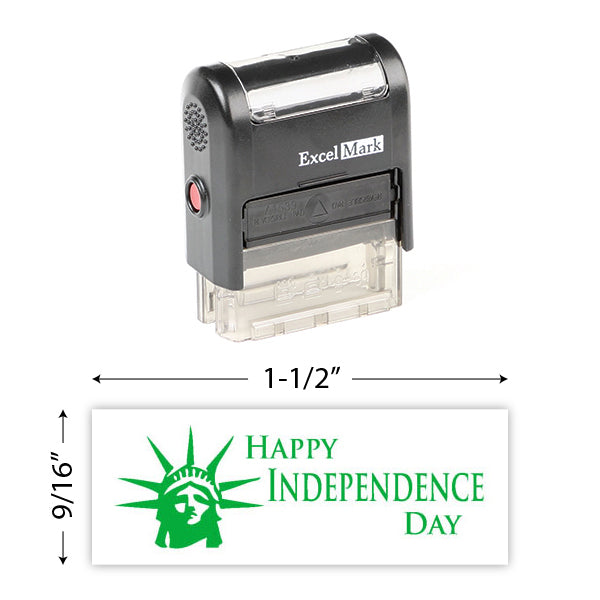 Happy Independence Day Stamp