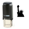 Silhouette Statue Of Liberty Stamp
