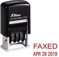 Shiny Faxed S-303 Dater