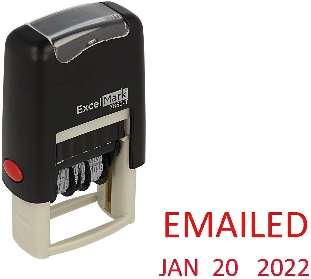 Small Emailed Date Stamp