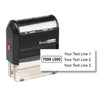 Rectangle Self-Inking Logo Stamp