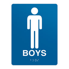 ADA Compliant Boys Sign
