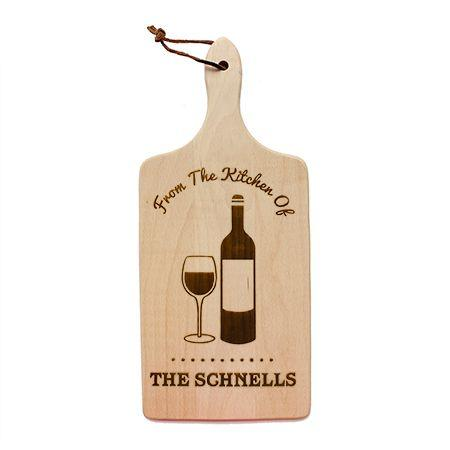 Wine Glass Cutting Board