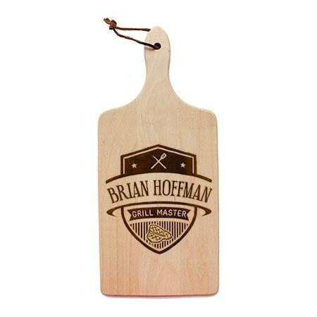 Grill Master Badge Cutting Board