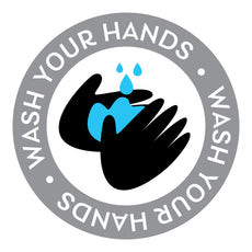 Wash Hands Decal