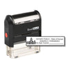 Self-Inking Kansas Notary Stamp