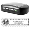 Slim Minnesota Notary Stamp
