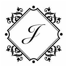 Baroque Diamond Monogram Embosser