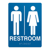 ADA Compliant Restroom 2 Sign