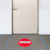 No Entry Floor Decal