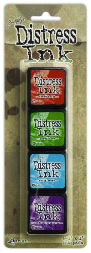 Tim Holtz Distress Mini Ink Kit- Kit 2