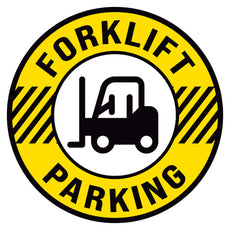 Forklift Parking Floor Decal
