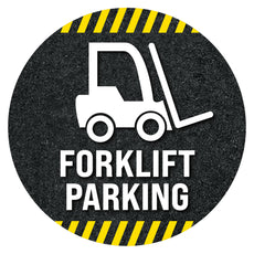 Forklifit Parking Floor Decal