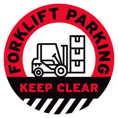 Florklift Parking Keep Clear Floor Decal