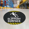 Slippery Surface Floor Decal