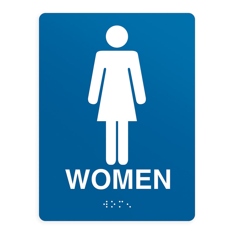 ADA Compliant Women Sign