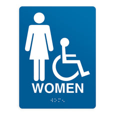ADA Compliant Women 2 Sign