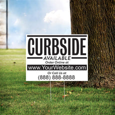"24"" x 18"" Custom Curbside Yard Sign"