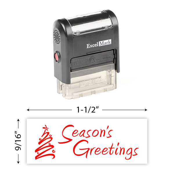 Seasons Greetings 2 Stamp