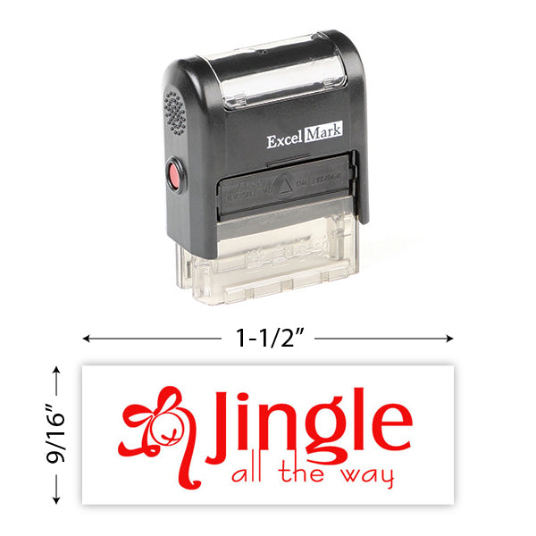 Jingle All The Way Stamp