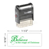 Believe In Magic Stamp