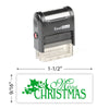 Merry Christmas 3 Stamp